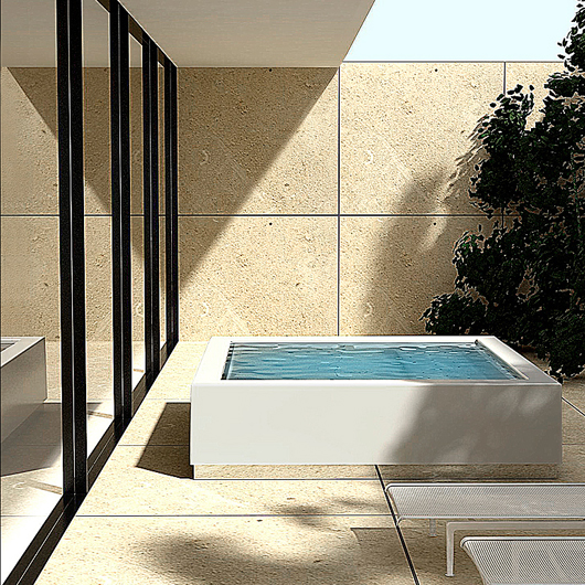 Kos Design quadrat pool by kos zucchettikos